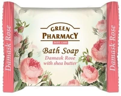 Green Pharmacy Mydło w kostce Róża damasceńska&masło shea 100g GP14-6459