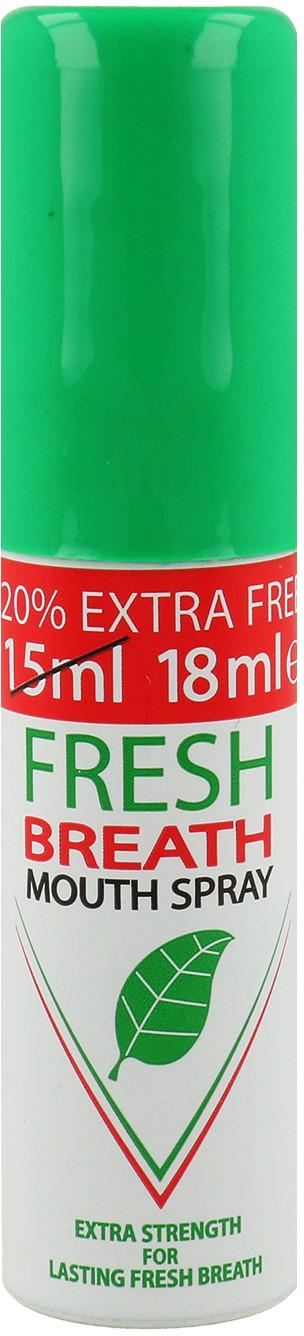 Fresh Breath Odświeżający Spray Do Ust Miętowy 18ml