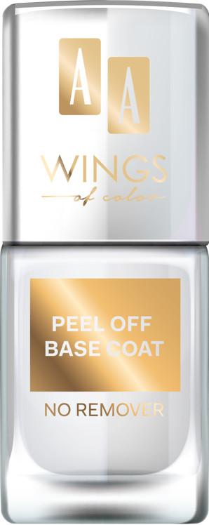 Oceanic AA WINGS OF COLOR Nail Base Coat Peel Off Baza pod lakier 03 11ML
