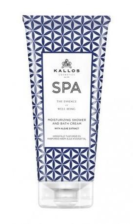 Kallos KALLOS_SPA Moisturizing Shower And Bath Cream żel i płyn do kąpieli z algami 200ml 60566-uniw