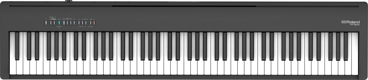 Roland FP-30X BK stage pianino cyfrowe czarne