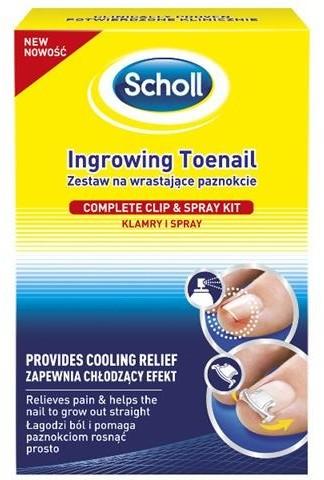 Scholl Zestaw na wrastające paznokcie 49773-uniw