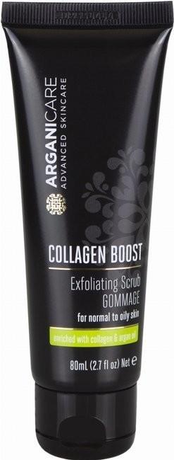ARGANICARE ArganiCare Collagen Boost Exfoliating Scrub Gommage Złuszczający peeling do twarzy 80ml 51875-uniw