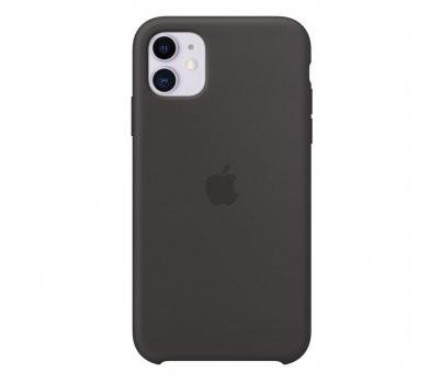 Apple Etui Apple Silicone Case do iPhone 11 czarne MWVU2ZM-A