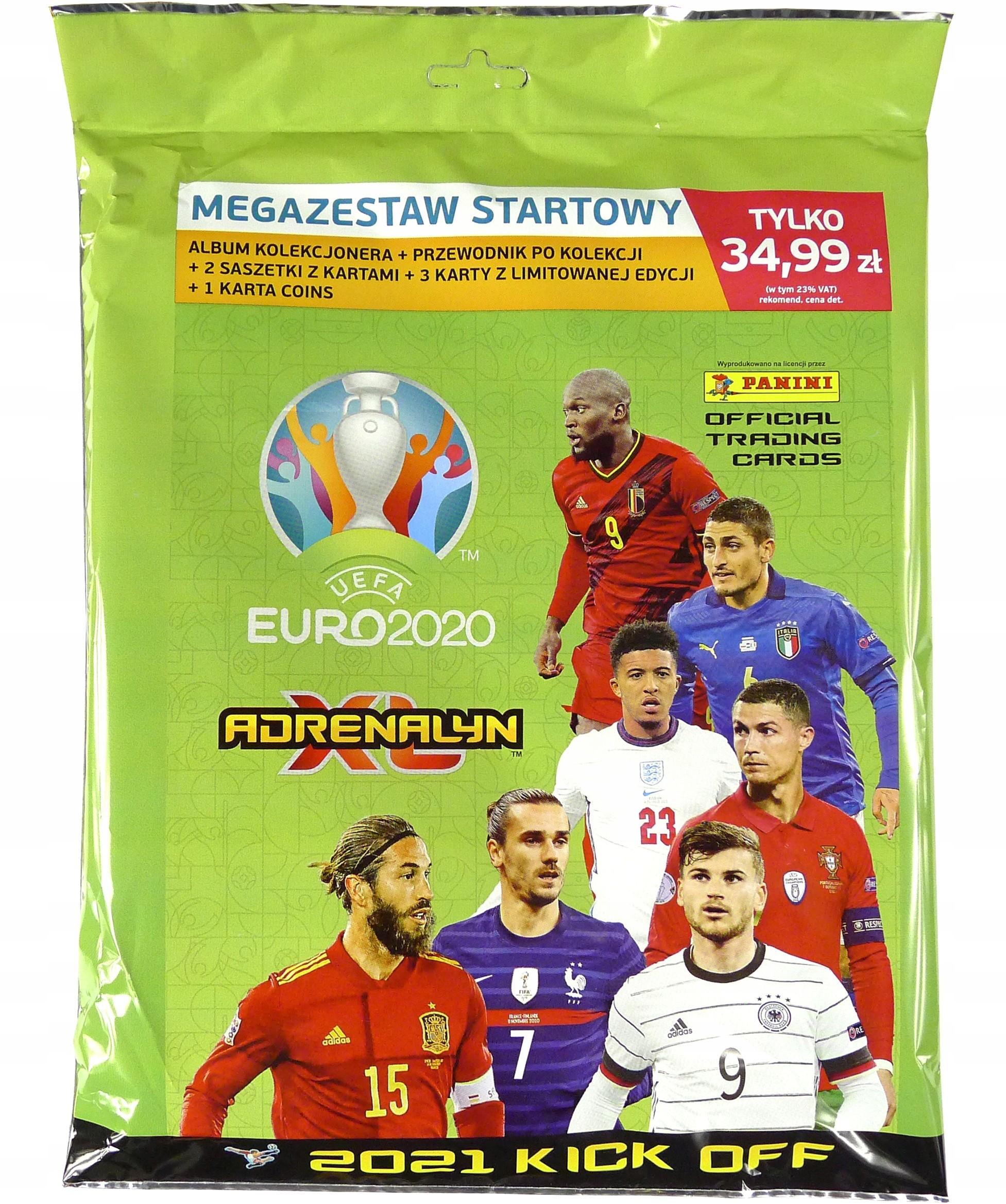 Euro 2020-2021 Kick Off Megazestaw zestaw Album