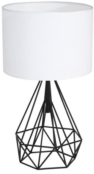 Milagro Lampka nocna Triangolo 1 x 60 W E27 IP20 czarno-biała 164