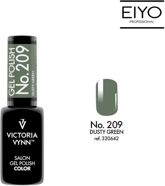 Victoria Vynn Lakier hybrydowy GEL POLISH COLOR Dusty Green nr 209 8 ml NOWOŚĆ! 330642