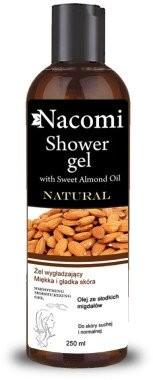 Nacomi Żel pod prysznic migdałowy wygładzający - Natural Shower Gel Żel pod prysznic migdałowy wygładzający - Natural Shower Gel