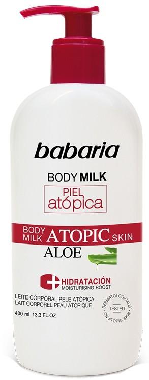 Babaria Balsam do ciała skóra Atopowa Aloes 400ml