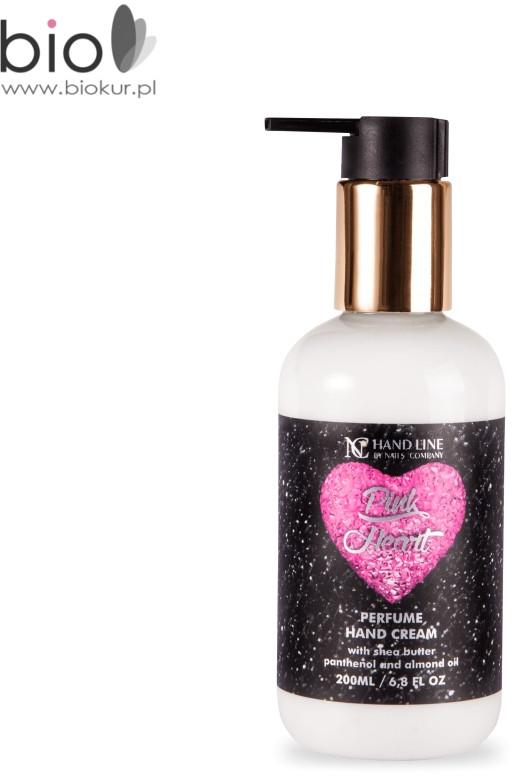Nails Company Pink Heart krem do rąk 200 ml Pink Heart