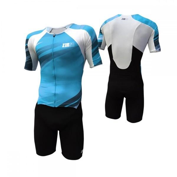 ZEROD strój triathlonowy TT SUIT niebieski