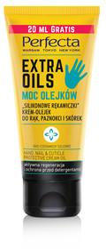 DAX Cosmetics Extra Oils Silikonowe rękawiczki krem-olejek do rąk paznokci i skórek 80ml, 80 ml 5900525062840