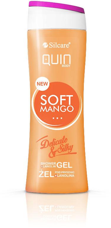 Silcare Żel do mycia ciała Quin z lanoliną 250ml - Mango