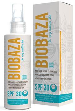 BIOBAZA SUN -  mineralny balsam do opalania  SPF 30 - 150ml