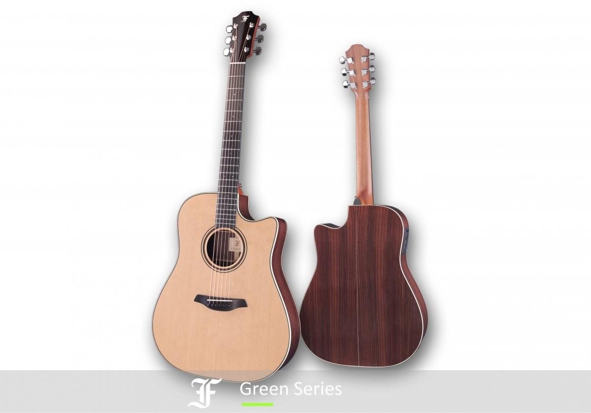 Furch Green Dc-SR LR Baggs SPE Master's Choice Gitara Elektro-Akustyczna