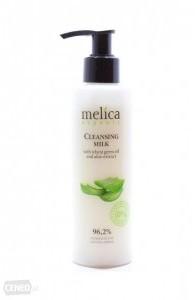 Melica Organic Oczyszczające mleczko do twarzy z olejkiem pszenicy i ekstraktem aloesu 200 ml - Organic 4039-0