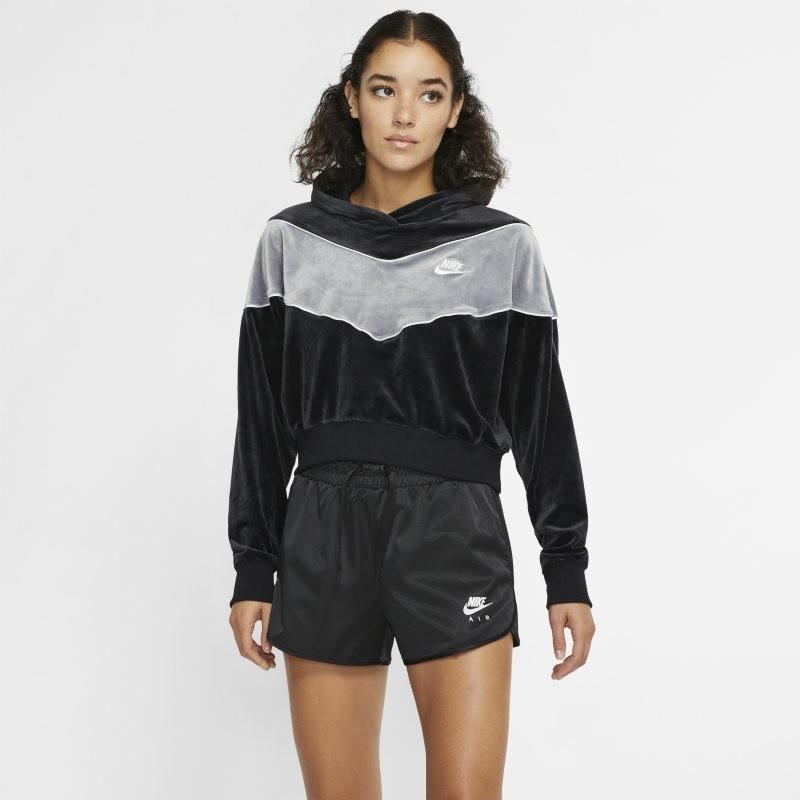 Nike Damska bluza z kapturem Sportswear Heritage - Czerń BV5054-010