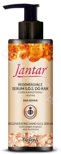 Farmona Jantar regenerujące serum S.O.S do rąk z esencją bursztynową i platyną 100 ml