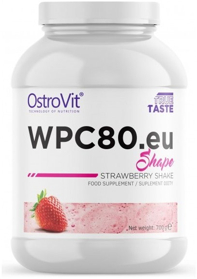 OSTROVIT Wpc80.Eu Shape 700G Strawberry (5902232611106)
