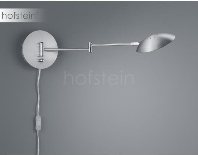 Trio Oświetlenie Leuchten Calcio Lampa ścienna LED Nikiel matowy, 1-punktowy 272470107
