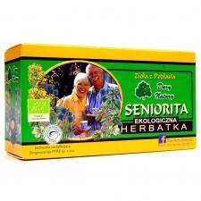 Dary Natury Mirosław Angielczyk, Koryciny 73,17-31 Herbatka SENIORITA BIO (20 x 2 g) 000-ED86-65785
