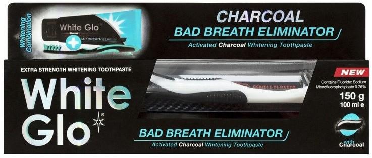 WHITE GLO WHITE GLO Pasta do zębów Bad Breath Eliminator 150g 45109-uniw