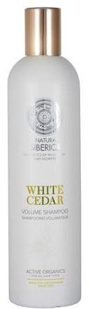Siberica PROFESSIONAL White Cedar Volume Shampoo szampon do włosów zwiększający objętość 400ml 50031-uniw