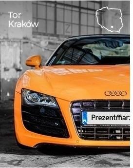 Jazda Audi R8 V10 jako pasażer  Tor Kraków P0004358