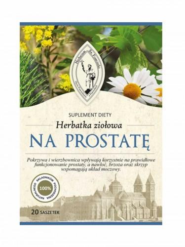 Herbarium św. Franciszka Herbatka wspomagająca prostatę, suplement diety, Herbarium Św. Franciszka, 20 x 5 g HERBFRANCISZKA10