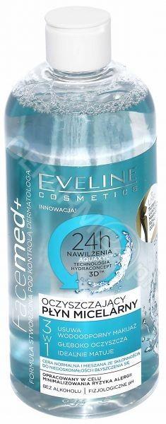 Eveline COSM Facemed+ oczyszczający płyn micelarny 3w1 400 ml