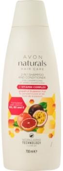 Avon Naturals Hair Care szampon z odżywką 2 w1 700 ml