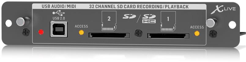 Behringer X-LIVE - karta rozszerzeń do X32