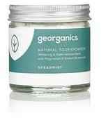 Georganics Georganics, proszek do czyszczenia zębów Spearmint, 60 ml
