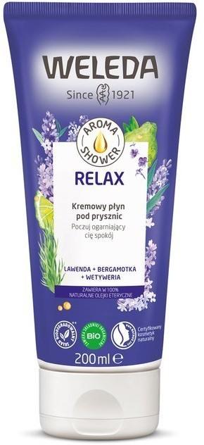 Weleda Aroma Shower Żel pod prysznic Relax 200ml 58212-uniw