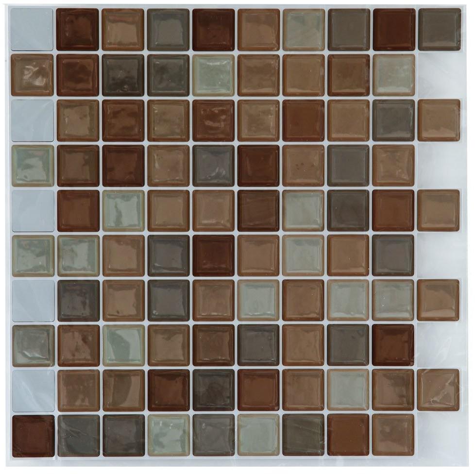Atmosphera Naklejki na płytki lub ścianę piękna mozaika kolorowych kwadracików która odmieni wnętrze