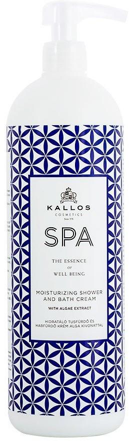 Kallos SPA Moisturizing Shower And Bath żel pod prysznic i płyn do kąpieli z ekstraktem algi 1000ml 1 l | SZYBKA WYSYŁKA!