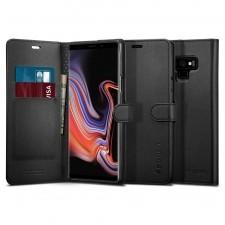 Spigen Etui Wallet S Galaxy Note 9, czarne 8809613761429