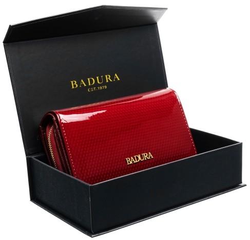 Badura BADURA portfel damski skórzany XXL 99554