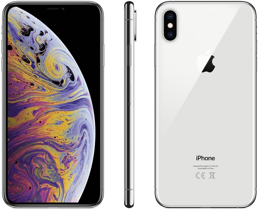 Apple iPhone Xs Max 256GB Srebrny (MT572PM/A)