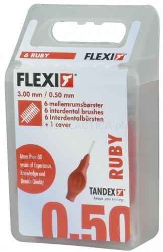 Tandex Flexi 0,50 szczoteczki międzyzębowe 6szt
