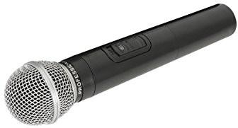 QTX Zamienny mikrofon bezprzewodowy do przenośnych jednostek PA QR i QX | 174,1 MHz 178.893UK