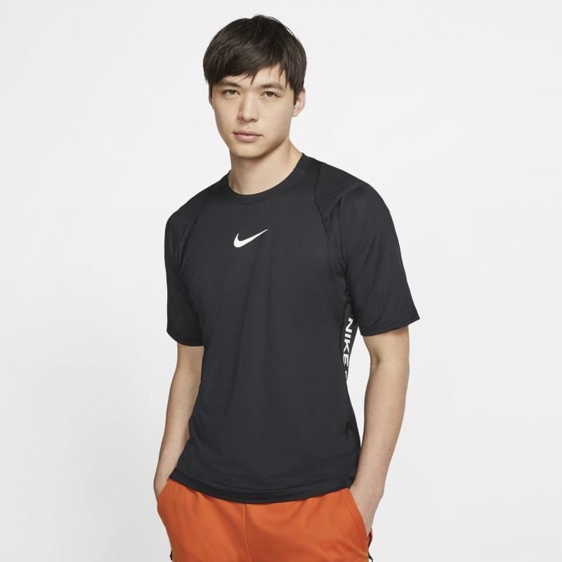 Nike Męska koszulka z krótkim rękawem Pro AeroAdapt - Czerń BV5510-010