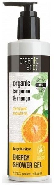Organic Shop Shop Żel pod prysznic orzeźwiający Mandarynkowa Burza 280 ml 280 ml   SZYBKA WYSYŁKA!