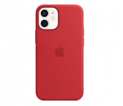 Apple Silikonowe etui iPhone 12 mini PRODUCT RED