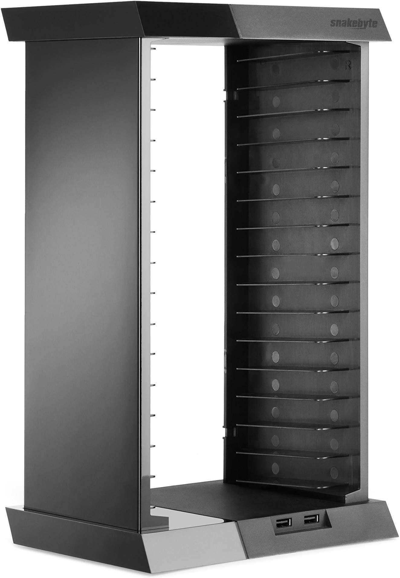 Snakebyte Organizer Charge:Tower z ładowarką do kontrolerów PS4 SB910340 SB910340