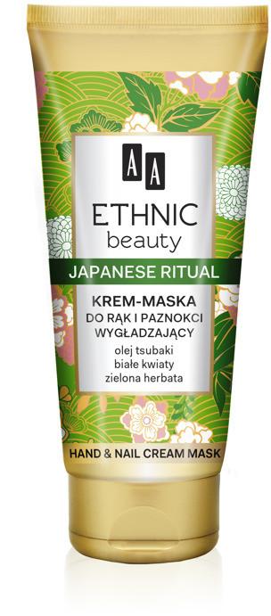 Oceanic AA Ethnic Beauty japoński rytuał krem maska do rąk i paznokci wygładzający 75 ml