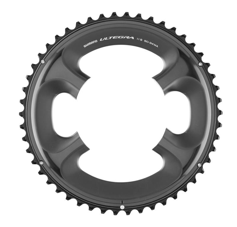 SHIMANO Tarcza mechanizmu korbowego Ultegra FC-6800 czarny / Ilość zębów: 52 Y1P498070