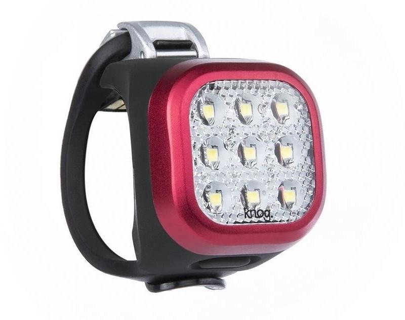 Knog Lampka przednia Blinder Mini Niner czerwona USB