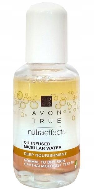 Avon True Nutra Płyn micelarny z olejkiem 50ml