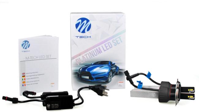M-tech Zestaw Led Set Platinium H4